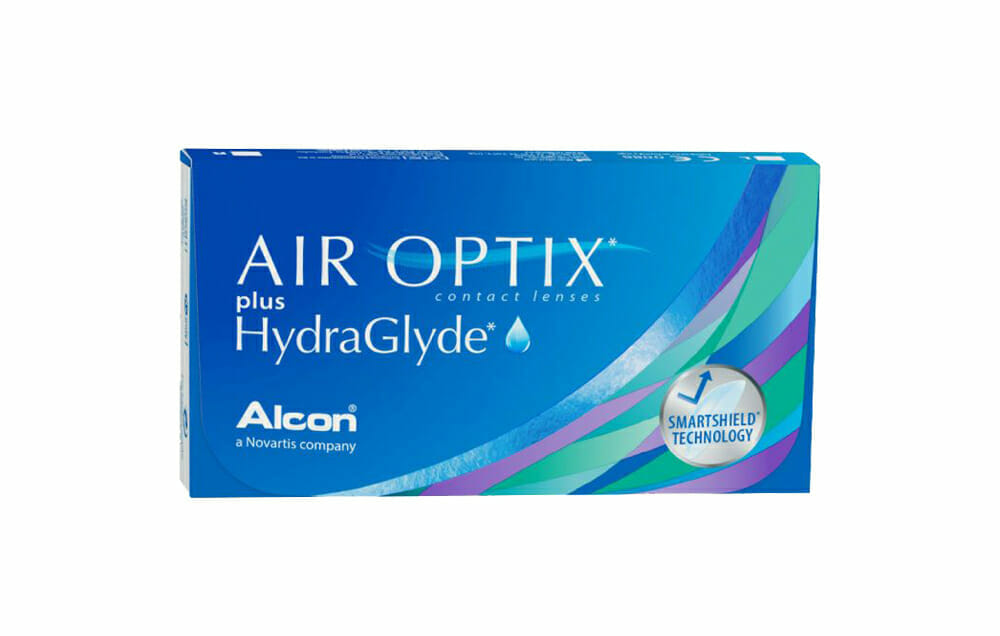AIR OPTIX Plus HydraGlyde Monthly 6 Lenses